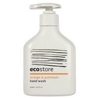 Ecostore Hand Wash Pump, Orange & Patchouli 250ml