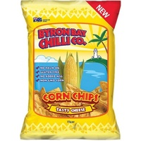 Byron Bay Chilli TASTY CHEESE Cornchips 175g
