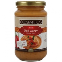 Thai RED CURRY sauce Ozganics 375g