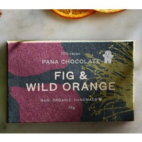 Pana Vegan Chocolate FIG & WILD ORANGE 45g