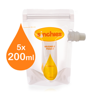 Sinchies Food Pouch 200ml - 5 pack