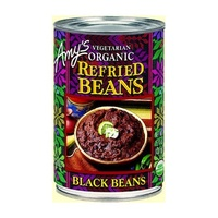Amy's Kitchen Beans Refried Black Organic 437g