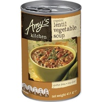 Amy's Kitchen Soup Lentil Vegetable Organic 411g