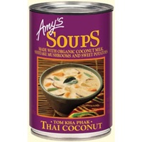 Amy's Kitchen Soup Thai Coconut Organic 400g