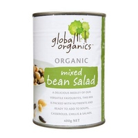 Beans Mixed Bean Salad Organic 400g Global Organics