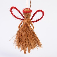 Xmas Angel Coconut Fibre
