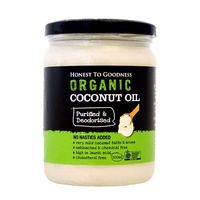 Coconut Oil Purified and Deodorised Organic 500ml