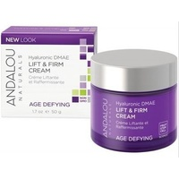 Andalou Lift & Firm Cream Hyaluronic DMAE 50ml