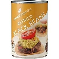 Refried Black Beans (Fat Free) Organic 450g