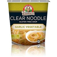 Dr. McDougall CLEAR NOODLE & Garlic Vegetable SOUP 31g