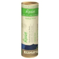 Eco Lips Lip Balm Revive Herbal Mint 8.5g