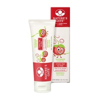Toothpaste Kids Cherry Gel Natures Gate 141g