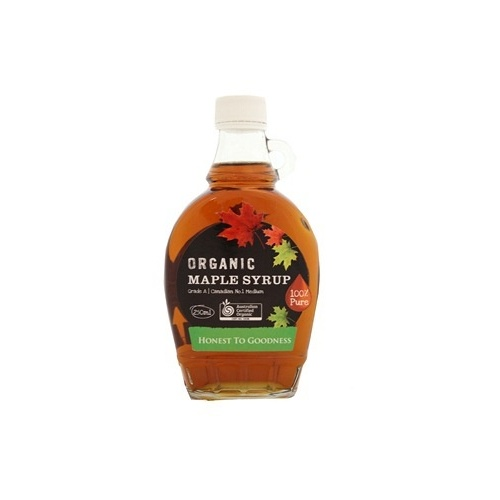 Maple Syrup Organic 250ml