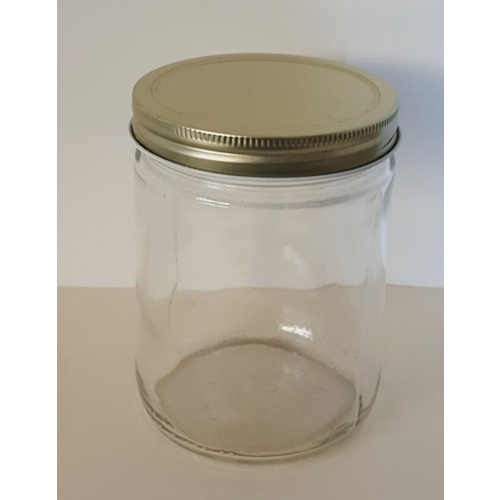 Jar 475ml, Pint Round Straight Sided