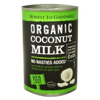 Coconut Milk Organic 400ml