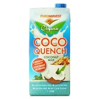 Coco Quench - Organic Coconut & Rice Milk 1L
