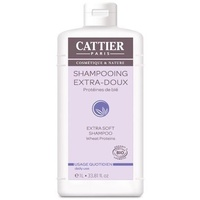 Cattier Shampoo Extra Soft Wheat Proteins Daily Use 1 Lit
