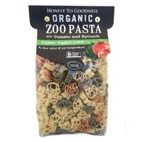 Pasta Zoo with Tomato & Spinach Organic PACK 500g
