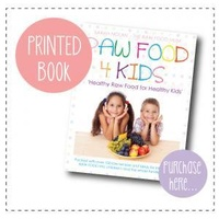 Raw Food for Kids book