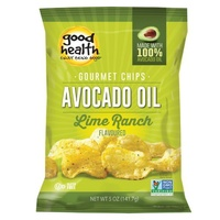 Good Health Chips AVOCADO OIL CHILEAN LIME RANCH 142g