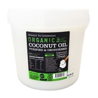 Coconut Oil PURIFIED Deodorised Organic 5 Litre