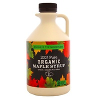 Maple Syrup Organic 1 Lit