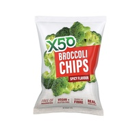 Broccoli Chips Spicy X50 40g