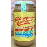 Ridiculously Delicious Peanut Butter Super Smooth 1Kg