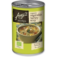 Amy's Kitchen Soup Vegetable Barley Organic 400g