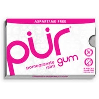 PUR Pomegranate Mint Gum 12.6g