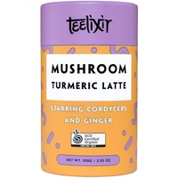 Mushroom Turmeric Latte with Cordyceps 100g by Teelixir