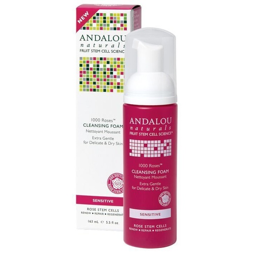 Andalou Cleansing Foam 163ml