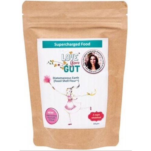 Diatomaceous Earth Fossil Shell Flour Love Your Gut 100g